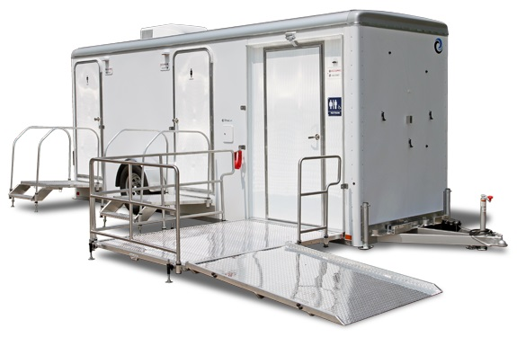 ADA Handicapped Restroom Trailer Rentals in South Carolina