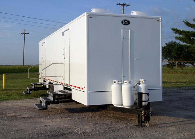 Large Restroom Trailer Rentals in Gaffney, South Carolina