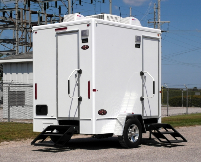 Cheapest, Most Affordable Restroom Trailer Rentals in Springdale, South Carolina